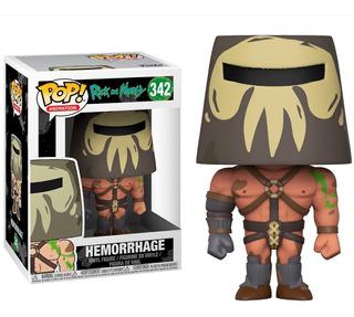 Funko Pop 342 Hemorrhage Rick And Morty Distribuidora Lv