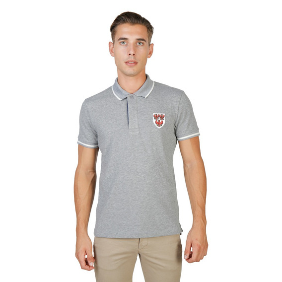 Polera Polo Queens Gris- Marca Inglesa Oxford University