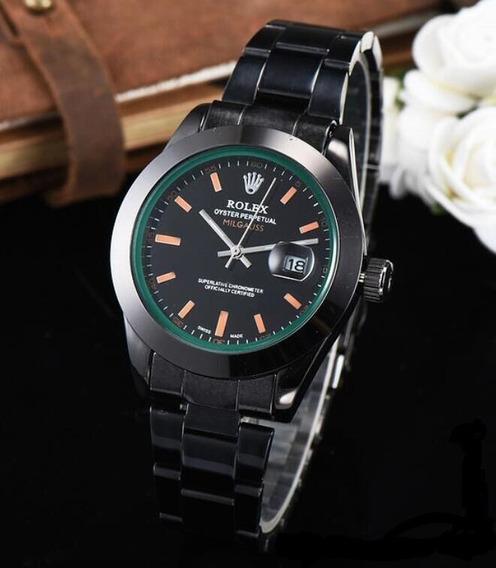 Relógio Masculino Rolex Milgauss Black - Frete Grátis