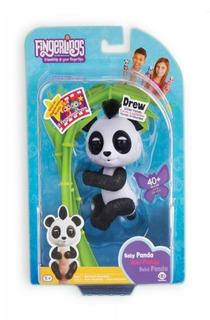 Fingerlings Bebe Panda Interactivo Dedo Original