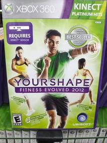 Jogo Kinect Your Shape Fitness Envolved 2012 Xbox 360, Novo