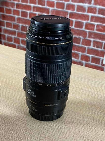 Lente Canon Ef 70-300mm Estabilizador F4-5.6 Is Usm