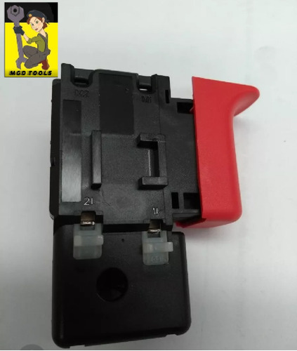 Interruptor  Original Furadeira Bosch Gsb13re 1607200718