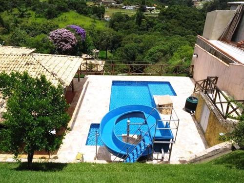 Imagem 1 de 9 de Chácara Com Vista Panorâmica, No Condomínio Porta Do Sol .