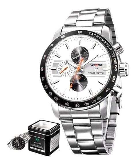 Relógio Masculino Weide Pulso Analógico Esportivo Wh-3313