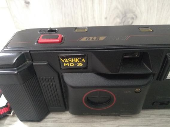 Câmera Fotográfica Antiga -yashica -md 35 Mm