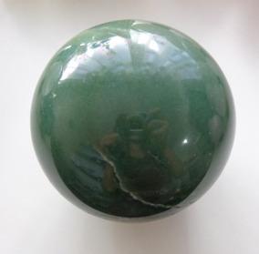 Bola De Quartzo Verde - H1254 - Prosperity Minerais