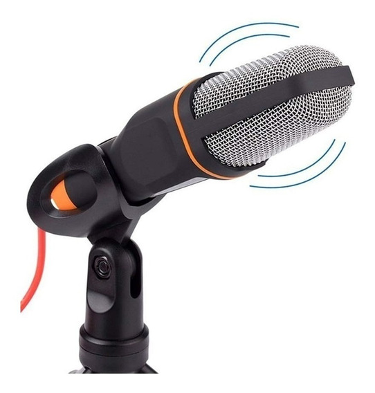 Microfone Youtuber Para Celular Notebook Tablet C/ Adaptador