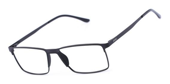 Armação Oculos Grau Masculino Avano Av 494-c Metal Original