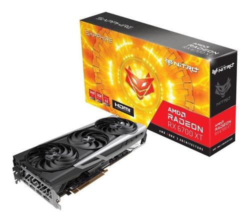 Placa De Video Sapphire Rx 6700 Xt 12gb Nitro+ Oc Radeon