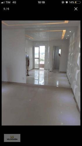 Imagem 1 de 10 de Apartamento Para Alugar, 54 M² Por R$ 1.740,00/mês - Jardim Santa Maria - Jacareí/sp - Ap0776