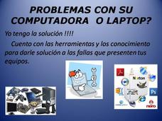 Servicio Técnico A Pc Y Laptops A Domicilio