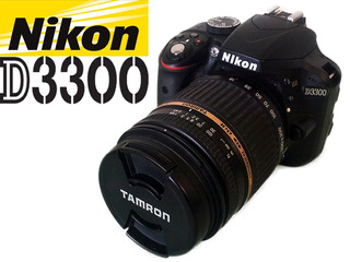 Cámara Digital Nikon D3300 Con Lente Tamron Af 18-250mm