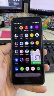 Celular Google Pixel 3 64gb (com Case De Couro E Película)