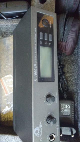 Sistema De Monitoramento In Ear K-1000 In Uhf - Kadosh