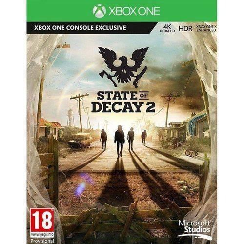 Jogo State Of Decay 2 Xbox One Midia Fisica Novo Promoção