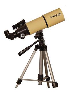 Telescopio Refractor Meade Adventure Scope 80 Tripode+bolso