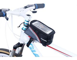 Bolso Alforja Delantero Bicicleta Porta Celular Guardavalor