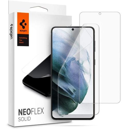 Protector De Pantalla Spigen Neoflex Galaxy S21 Ultra X2