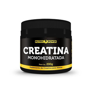 Creatina Monohidratada 200g Nutry Power - Pronta Entrega