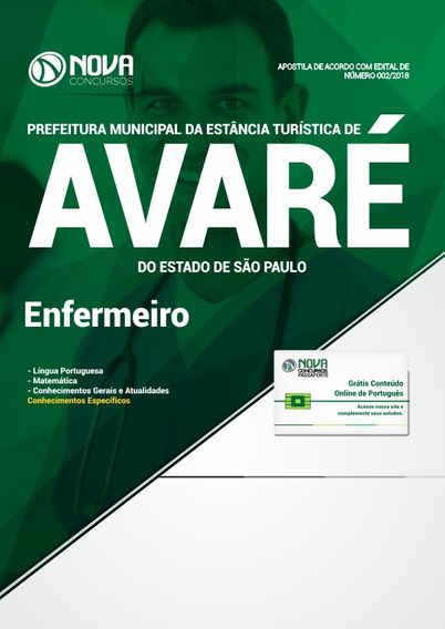 Prefeitura De Avaré - Sp Enfermeiro