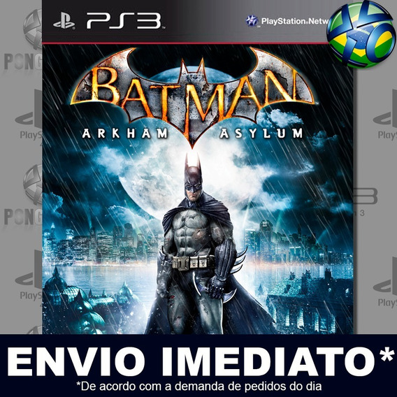 Batman Arkham Asylum Ps3 Psn Jogo Em Promoção Pronta Entrega