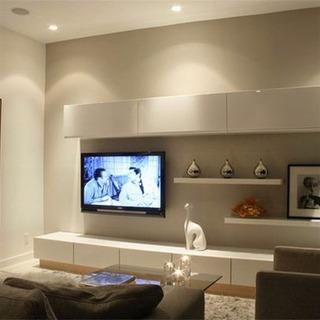 Modular Laqueado Tv Led Rack Vajillero Organizador Mesa 2.4m
