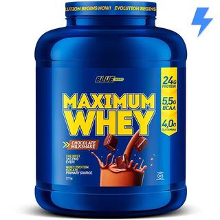 Whey Protein Maximum Whey 2.3kg - Blue Series - Isolado, Wpc