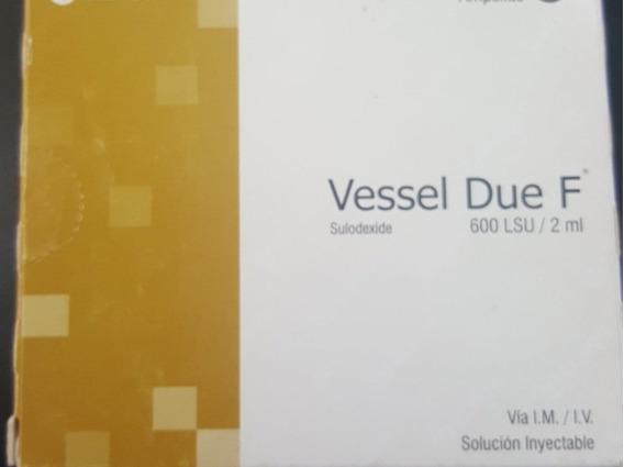 Ampollas Vessel Due F Vesseldue Sulodexida
