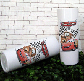 50 Copos Long Drink Carros Disney, Lembrancinhas