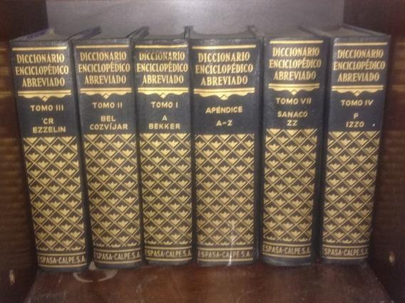 Diccionario Enciclopédico Abreviado.. Colección Espada.calpe