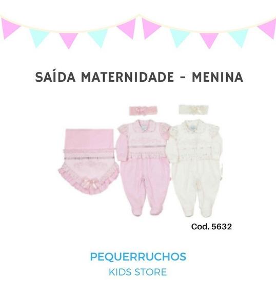 Saida Maternidade Rosa Menina