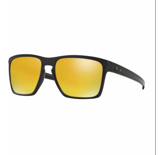 Óculos Oakley Sliver Dourado Original