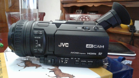 Cámara Gy-hm200u 4k Jvc