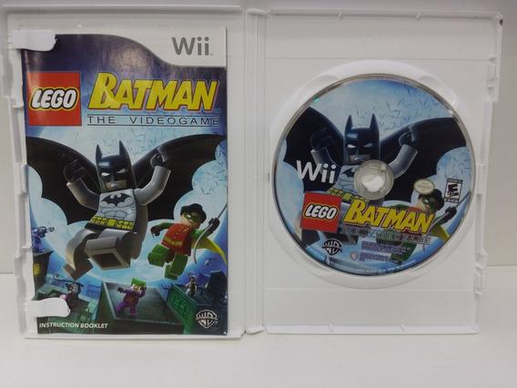 Lego Batman The Videogame Nintendo Wii Original Americano