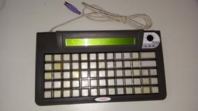 Teclado De Automação Tec65 Com Display