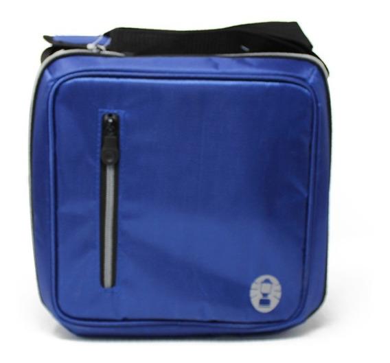 Lonchera Hielera Flexible Messenger Azul Coleman 2000013731