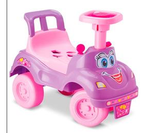 Totoka Infantil Motoca Bebe Totokinha Rosa Menina