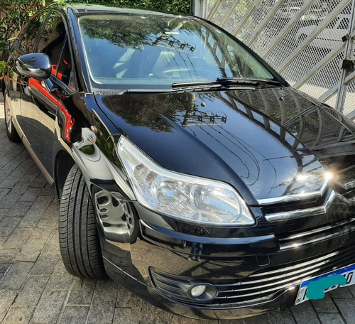 Citroën C4 2.0 Exclusive Sport Flex 4p Automático Preto 2013