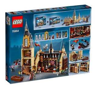 Lego 75954 Harry Potter Hogwarts Great Hall Building Kit - 8
