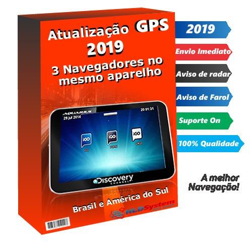 Atualização Gps Aquarius Discovery Channel Com 3 Igo