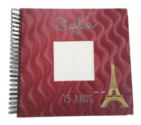 Álbum Scrapbook De Foto Personalizado Debutante 15 Ano 33x32