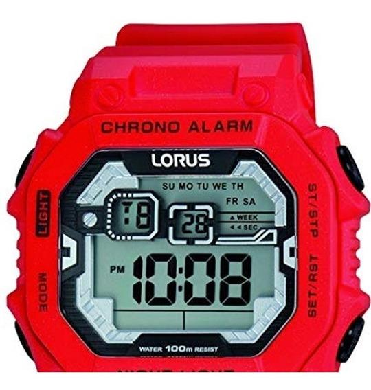 Reloj Digital Lorus By Seiko R2303lx9 Alarma Luz Calendario