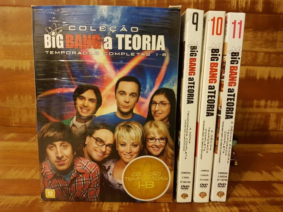 11 Temporadas Big Bang A Teoria
