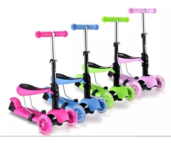 Patinete Infantil 3 Rodas Brinquedo Importado Promoça