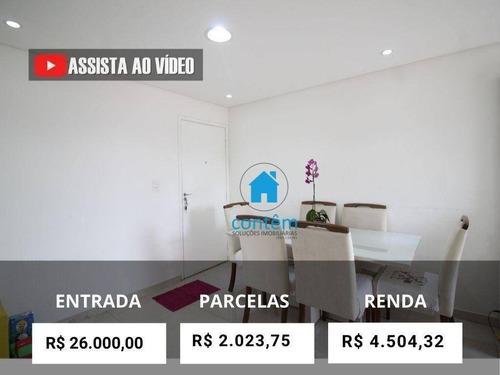 Imagem 1 de 30 de Ap1696 - Apartamento Com 2 Dormitórios À Venda, 64 M² Por R$ 250.000 - Jaguaribe - Osasco/sp - Ap1696