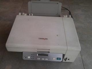 Impresora Multifuncion Lexmark X3470 Sin Uso