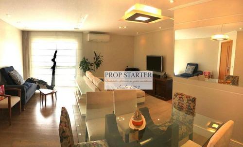 Imagem 1 de 24 de Apartamento Com 3 Dormitórios À Venda, 88 M² Por R$ 810.000 - Vila Monumento - Prop Starter Adm Imóveis - Ap0667