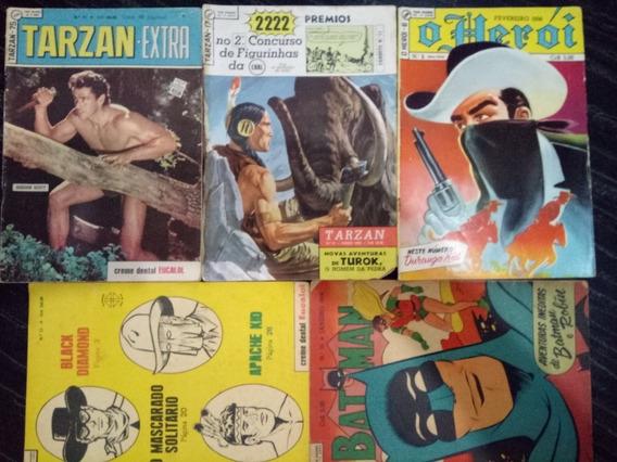 Tarzan N.°75 E 17 E Mais 3 Revistas Por 410 Jm.gibis-raros