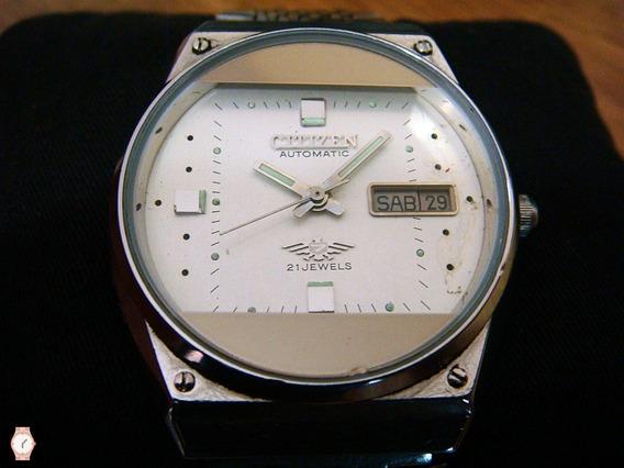 Reloj Citizen Automático Vintage Dial Blanco